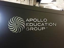 Dimensional Logo and Lettering on interior wall