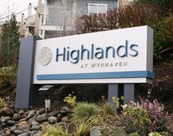 Highlands at Wynhaven Monument Sign