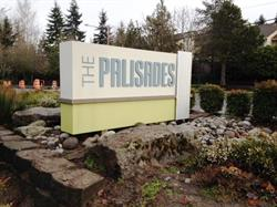 The Palisades Monument Sign