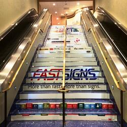 Stairway Vinyl Floor Graphics
