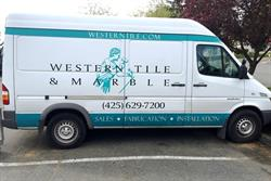 Vinyl Graphics on Van