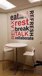 Break Room Wall Graphics