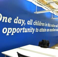 Large Vinyl Wall Lettering