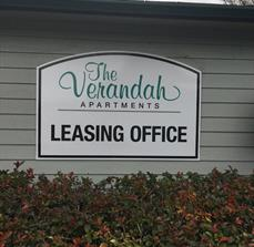 The Verandah Building Sign