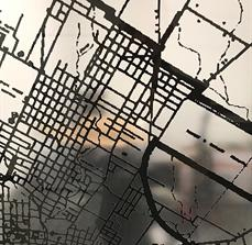 Austin City Map Window Graphics