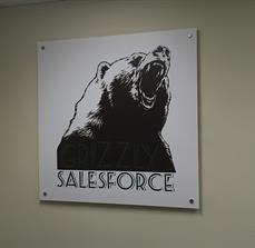 Bear Wall Graphic