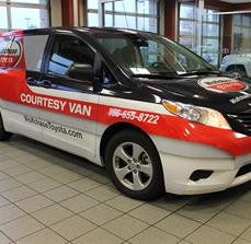 Wolfchase Courtesy Van Graphics