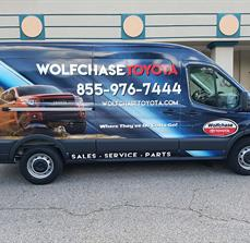 Wolfchase vehicle Graphics