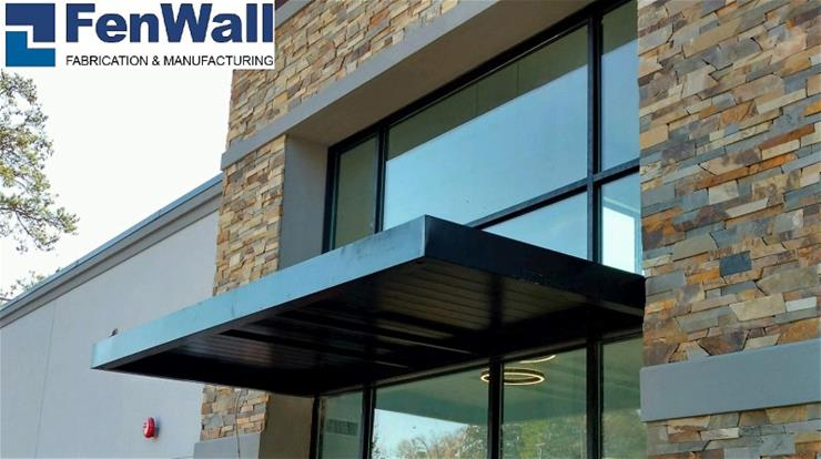 FenWall London Series Cantilevered Canopy