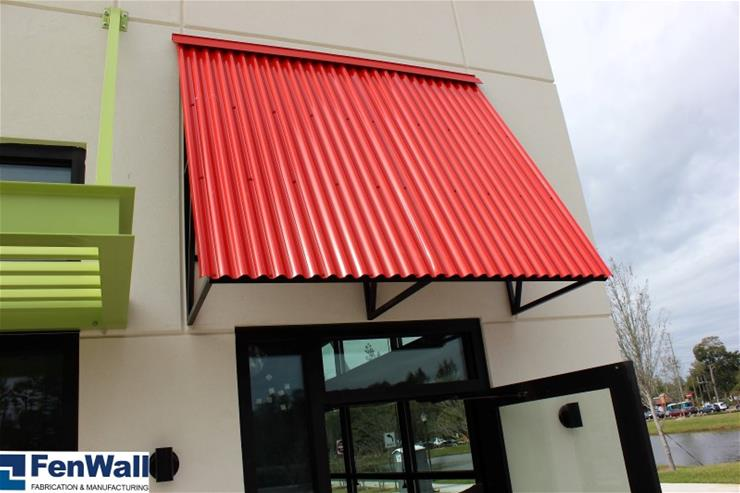FenWall Roof Deck Awning