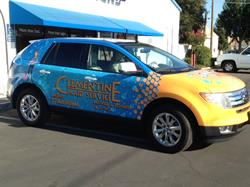 Vehicle Wrap Clementine maid Service