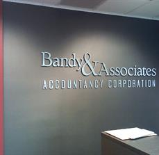 Bandy & Associates  Dimensional Letters
