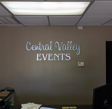 Central Valley Events  Dimensional Letters