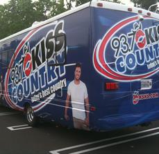 Kiss Country RV Wrap