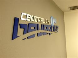 Central Cal Beverage dimensional letters, logo