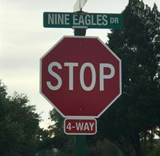 4-Way Stop & Street Signs for Communities