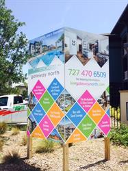 Site signs for property managers and realtors