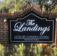 Property signs for condos and other communities