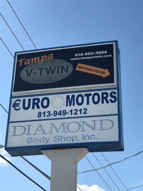Automotive industry pylon signage and branding