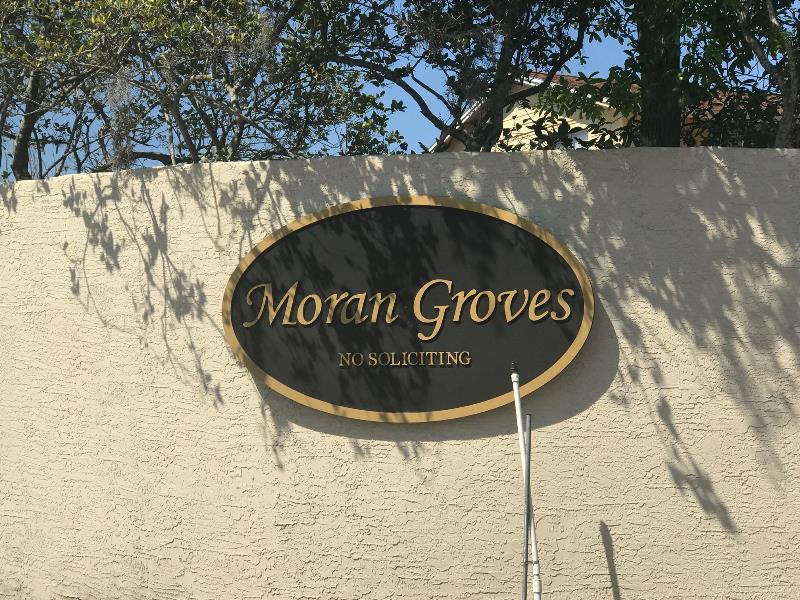 Refreshed sandblasted signs for communities looking for a renewed look