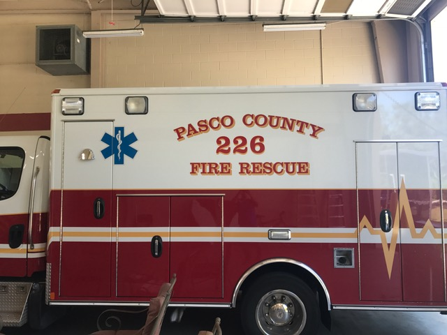 Fire Rescue vehicle graphics for first responders