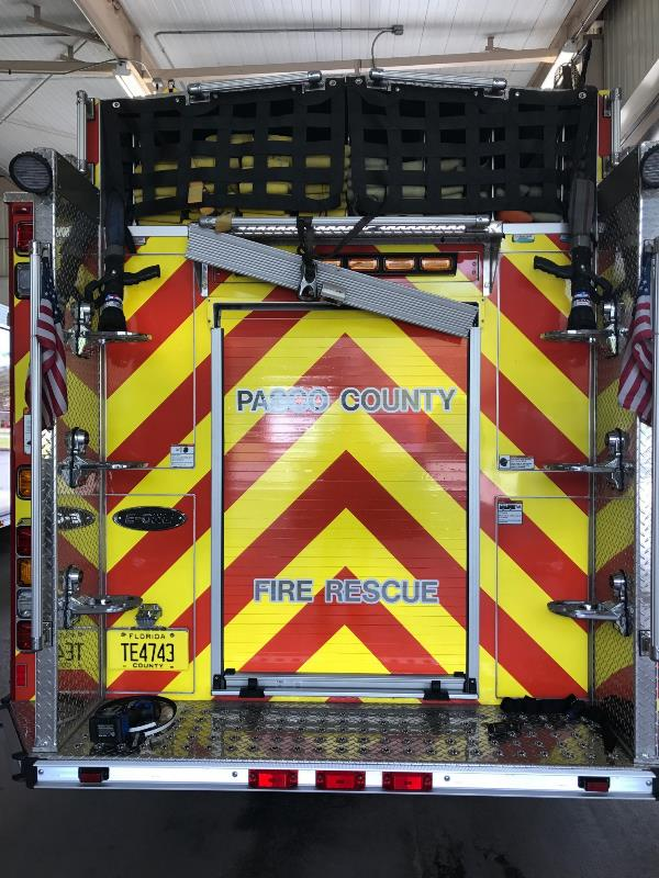 Vinyl for firetrucks, public service vehicles and for other first responders