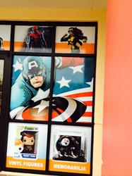 Toys and Collectibles vinyl storefront