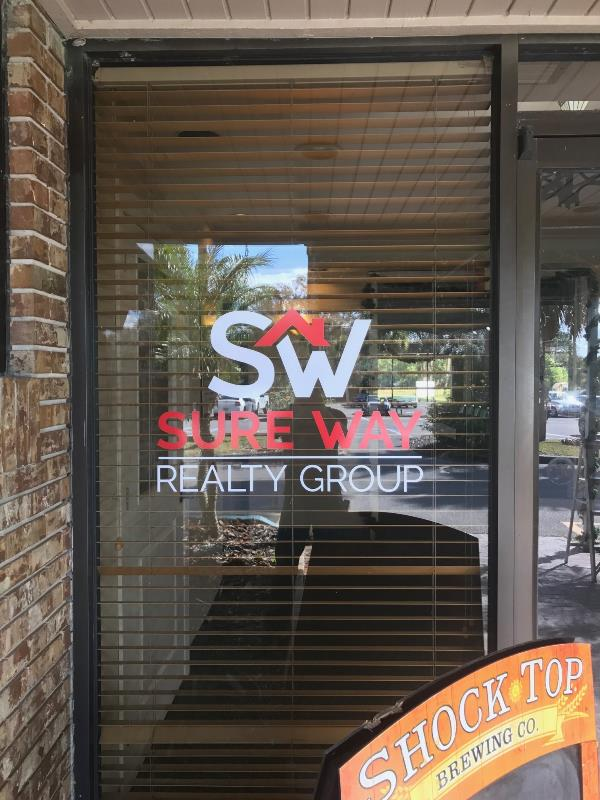 Window vinyl and storefronts for new businesses