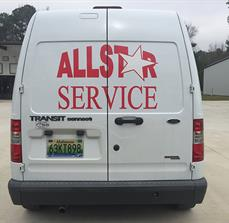 All Star Services Vehicle Graphics