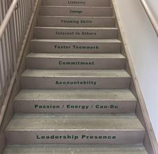 Nucor Stair Graphics