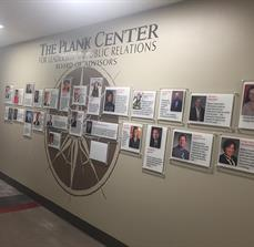 University of Alabama Communications Studies Wall Graphics