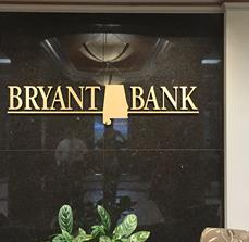 Bryant Bank Channel Letters