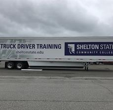 Shelton State Community College Trailer Wrap