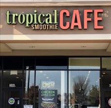 Tropical Cafe Outdoor Signs_Channel Letter