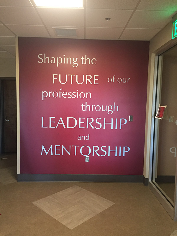 University of Alabama Wall Graphics
