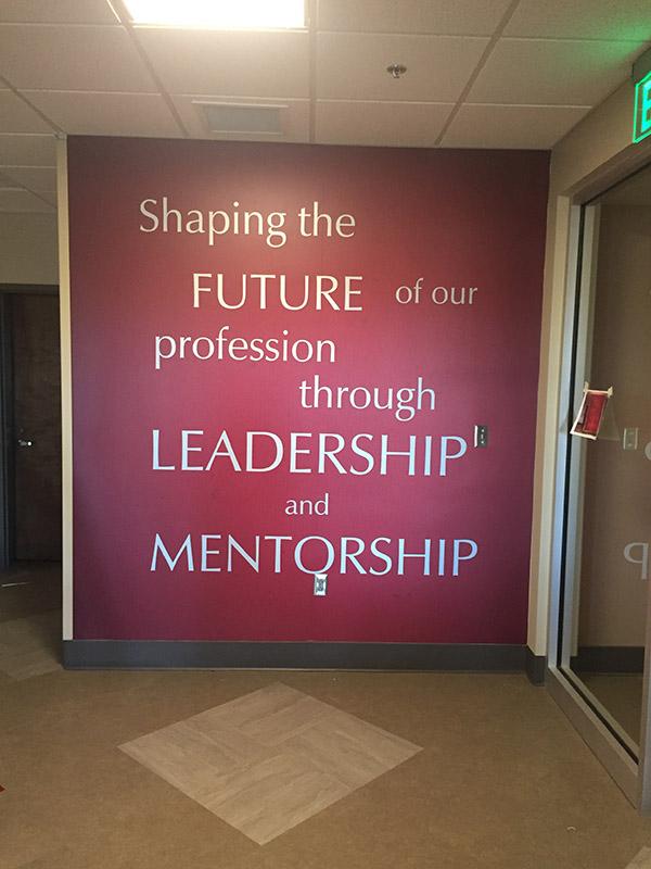 University of Alabama Wall Graphics