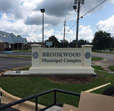 Brookwood Monument Sign