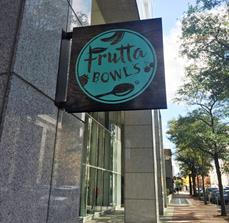 Frutta Bowls Blade Sign