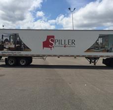 Spiller Furniture Truck