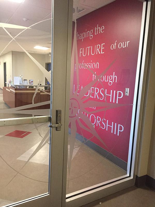 University of Alabama Vinyl Wall and Door Graphics