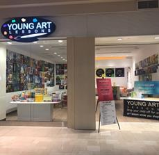Young Art - Store front Illuminated LED Sign with Push Through Letters