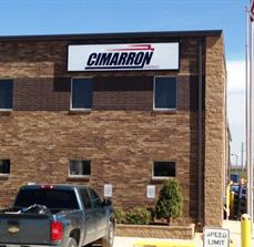 Cimarron Energy Lighted Box Sign