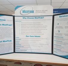 Trade Show Display Medtrak Billing