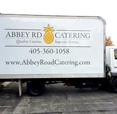 Large Catering Truck Graphics