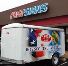 Boy Scouts of America Trailer Graphics
