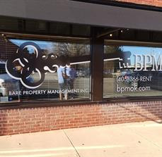 Bare Property Management Window Graphic