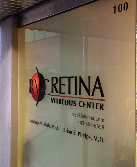 Retina Vitreous Center Dimensional Window Graphics