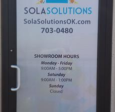 Custom Perforated Window Graphics