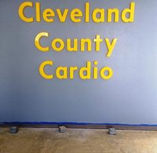 Cleveland County Dimensional Lettering