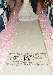 Victoria McBride's Weddings Aisle Runner